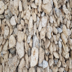 Jumbo - 60mm to 150mm River Pebbles - Chalk - Flint (1)